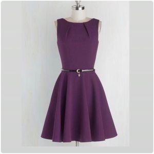 ModCloth Luck Be a lady A line Dress